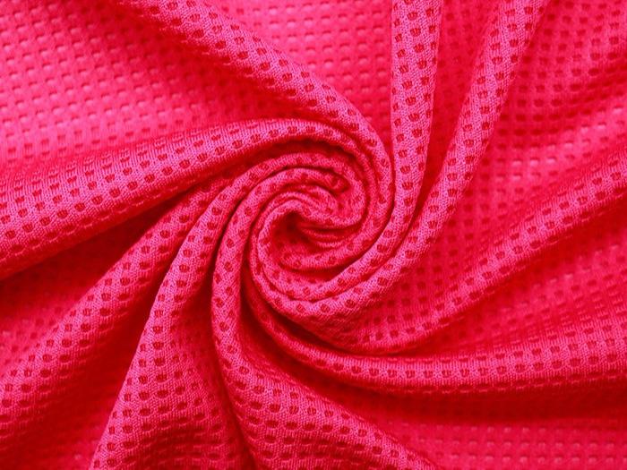 珠地网眼布 夏季短袖t恤男女装针织面料