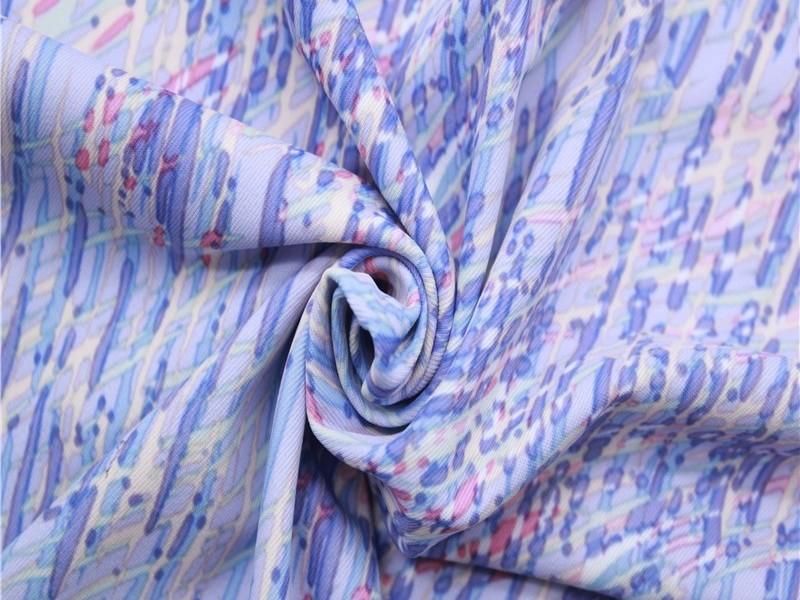 针织印花双面布
