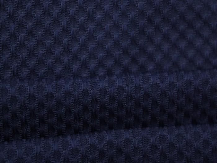 涤纶针织弹力提花面料 运动T恤针织面料