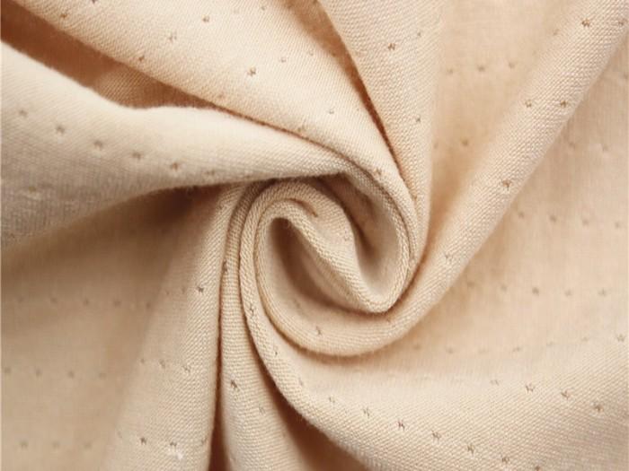 针织经编提花布厂家 人棉弹力针织提花布厂家