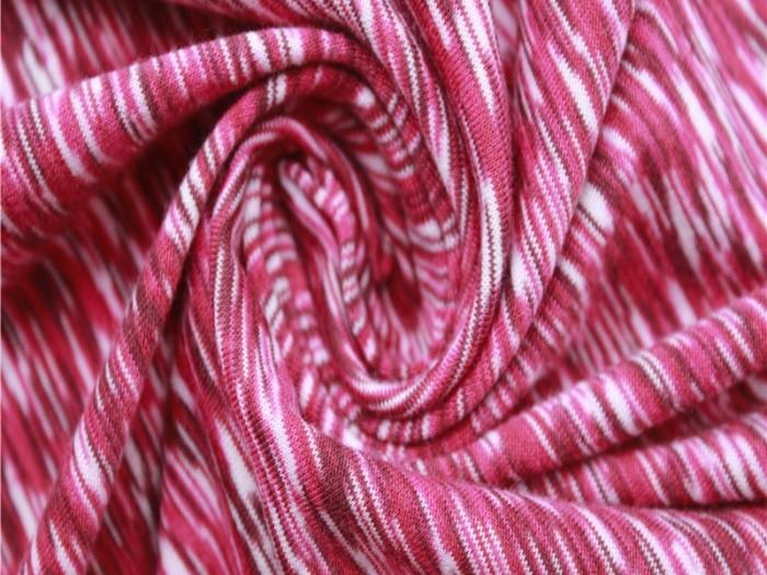 江苏针织单面布厂家 涤纶弹力阳离子汗布 运动面料厂家