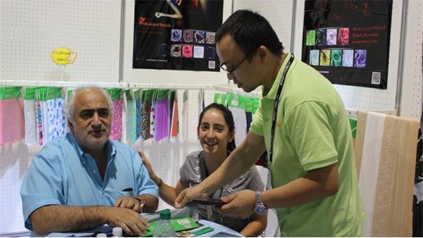泛馨纺织带你走进越南国际纺织展览会VTG