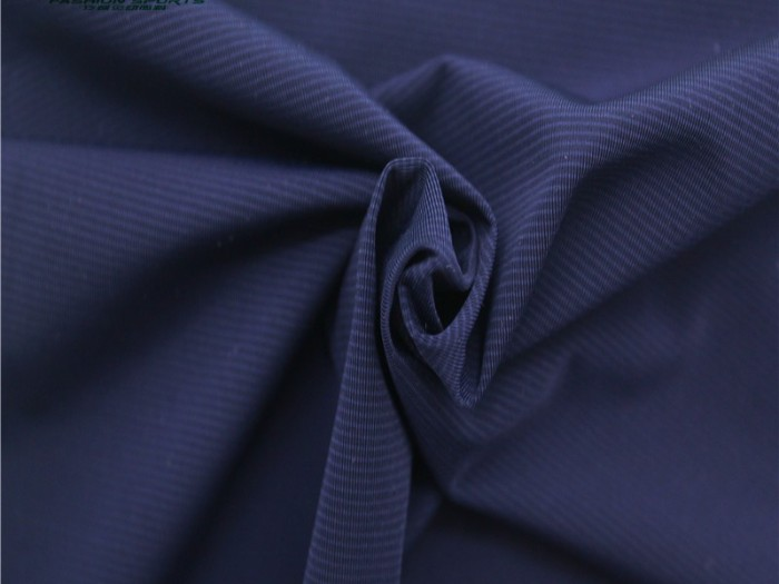 常州厂家定制锦氨细条纹针织单面汗布 透气运动T恤针织面料
