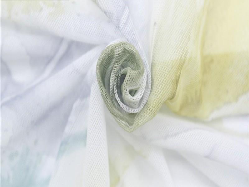 涤纶弹力印花针织网布 江苏针织网布厂家