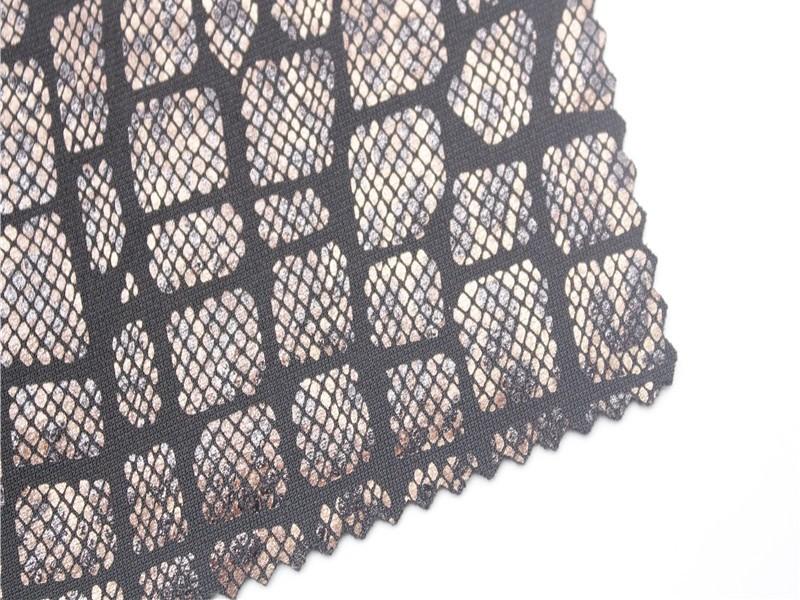 烫金针织布厂家 弹力针织面料