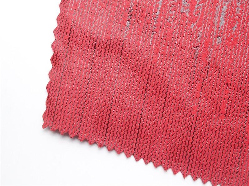 烫金针织面料