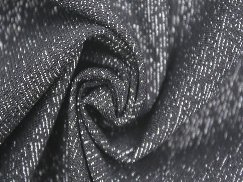 银丝针织弹力布