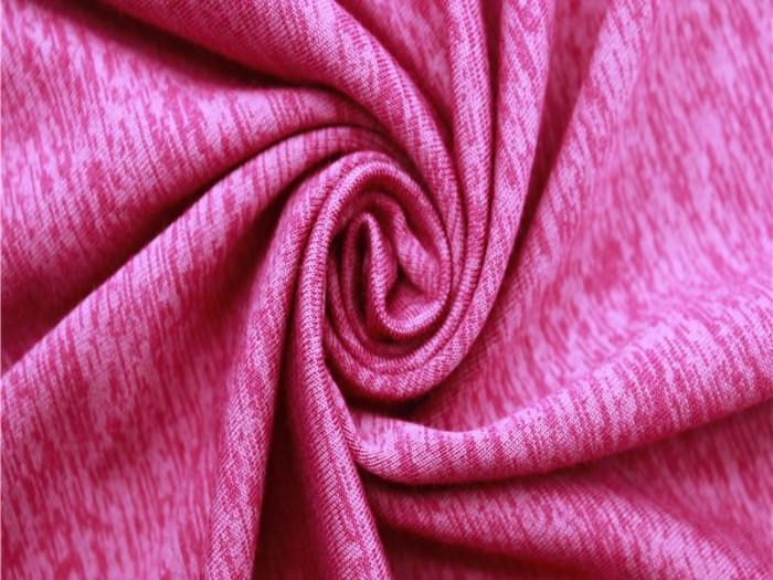 混纺面料针织单面汗布 运动面料厂家 针织弹力面料厂家