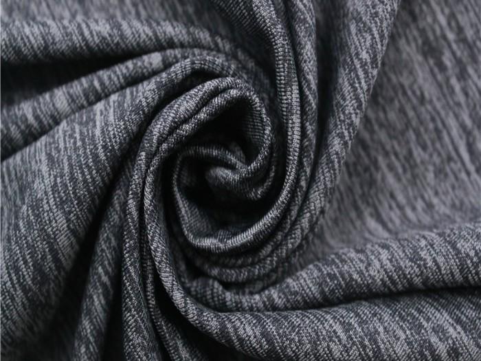 针织锦涤氨单面汗布 运动针织面料厂家 单面针织面料厂家