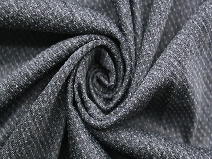 全涤针织单面汗布 提花针织面料工厂 运动服面料定制