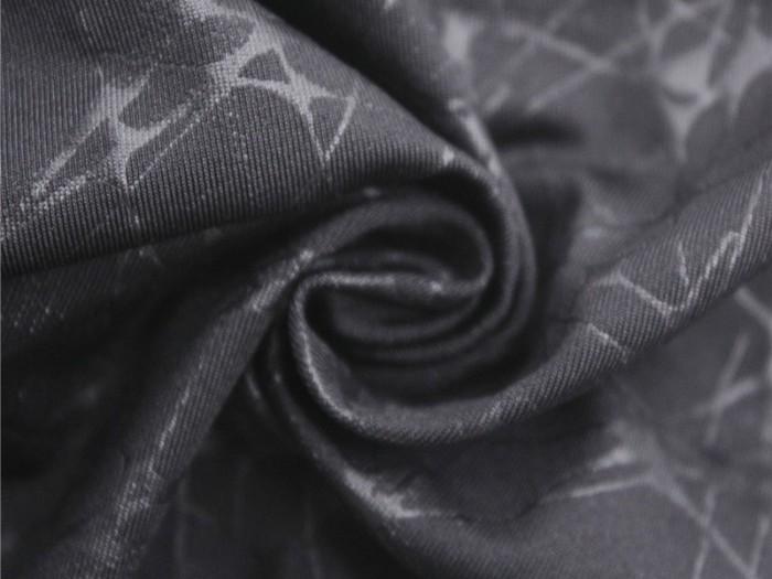 针织涤纶弹力单面汗布 运动休闲T恤面料