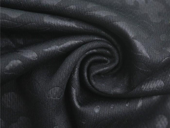 全涤针织单面汗布厂家 运动休闲服T恤饰定制工厂