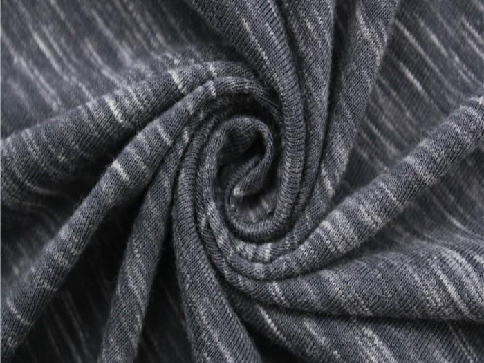 针织外套面料 针织单面汗布厂家 涤棉针织面料
