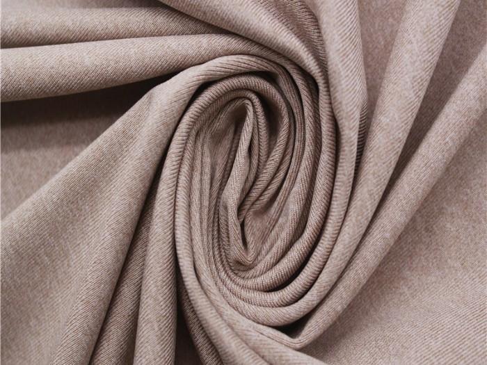 运动针织面料厂家 涤纶弹力针织单面汗布