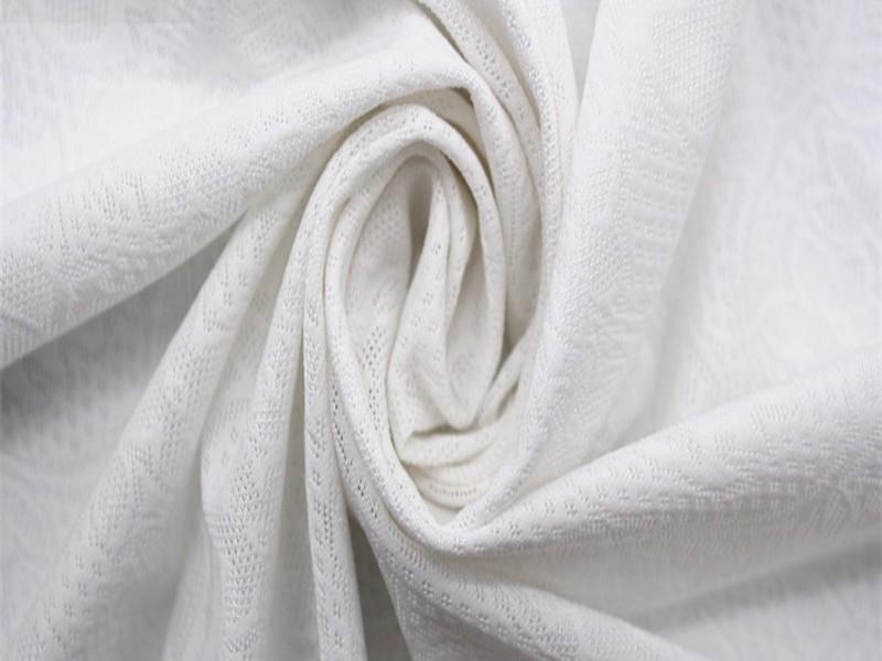 针织提花平布