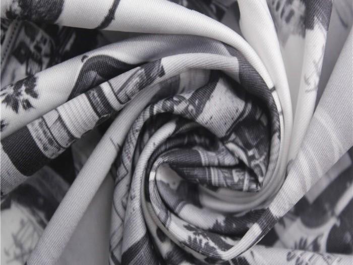 印花内衣针织面料