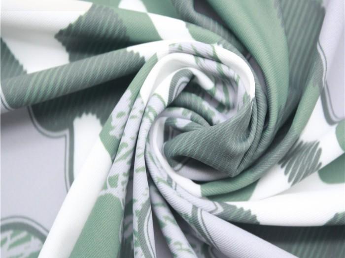 江苏针织双面布厂 涤纶弹力印花双面针织布