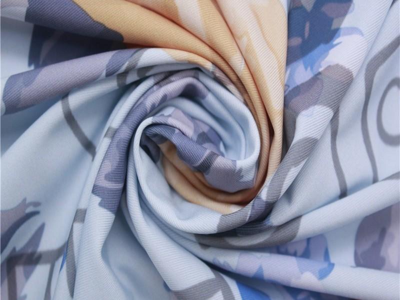 数码印花单面汗布