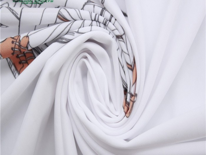 印花单面汗布