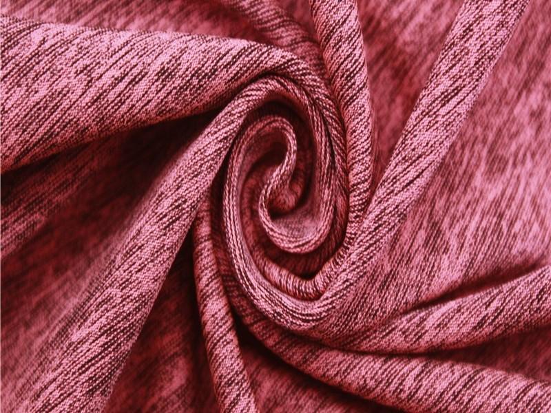 磨毛涤纶弹力针织单面汗布 保暖外套休闲服运动针织面料