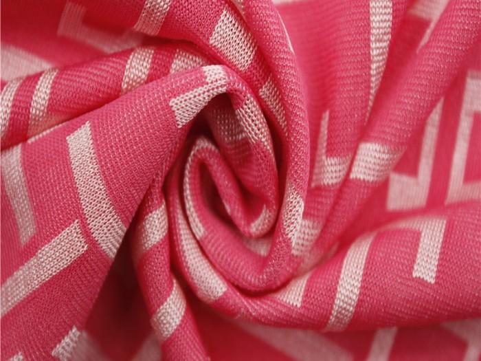 针织提花布厂家  提花针织布供应商