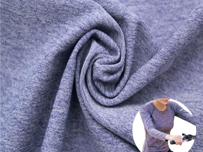 锦涤氨阳离子运动汗布 抗菌防臭针织面料